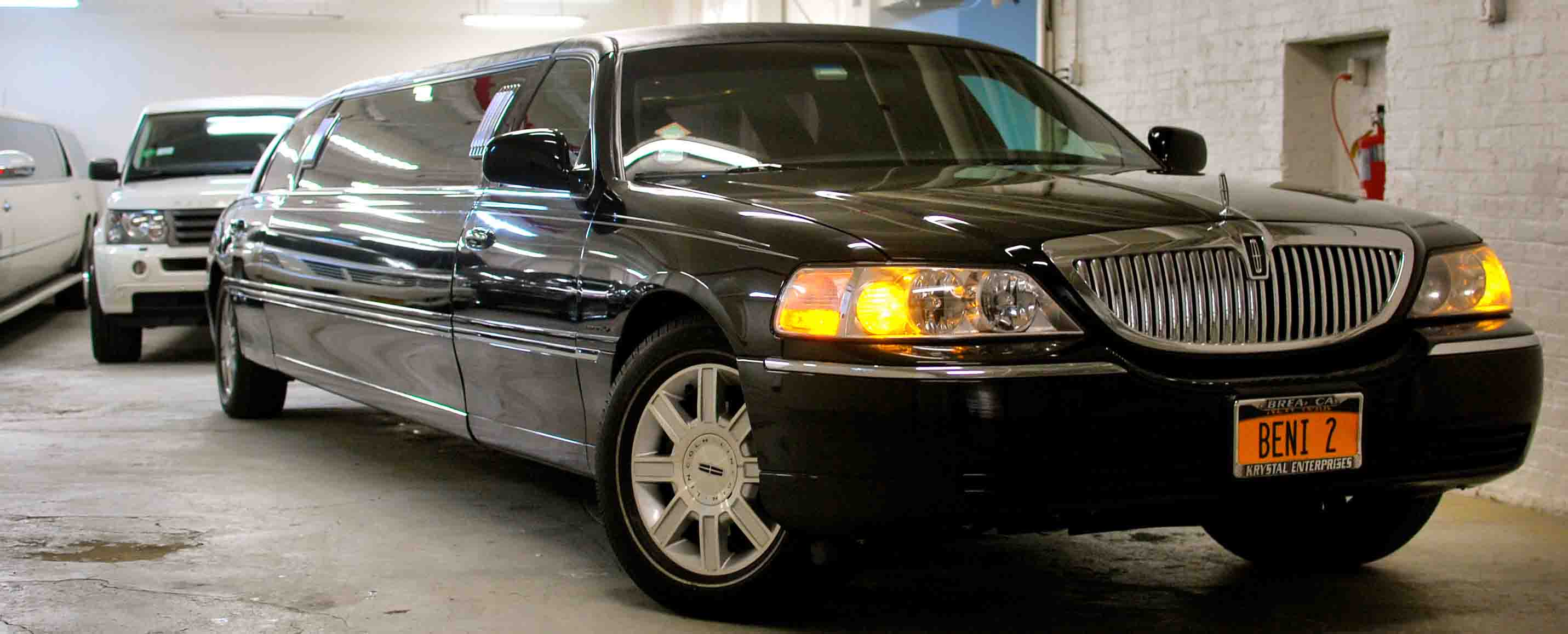Lincoln Limousine Exterior